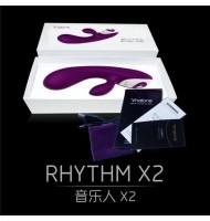 Rhythm X2 App Bluetooth Remote Control Massager Voice Music Control Vibrator Clitoris Stimulator Sex toys For Woman