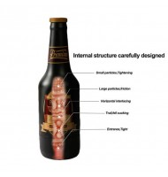Realistic Beer Bottle Remote Control Vibration Masturbator Cup Vagina Portable Pussy Male Masturbator Passion Cup Adult Sex Toy For Man