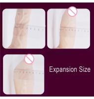 Telescopic Realistic Dildo Vibrator Heating Clitoris Stimualtor Massage Expansion G spot Penis Vibrating Adult Sex Toy for Woman