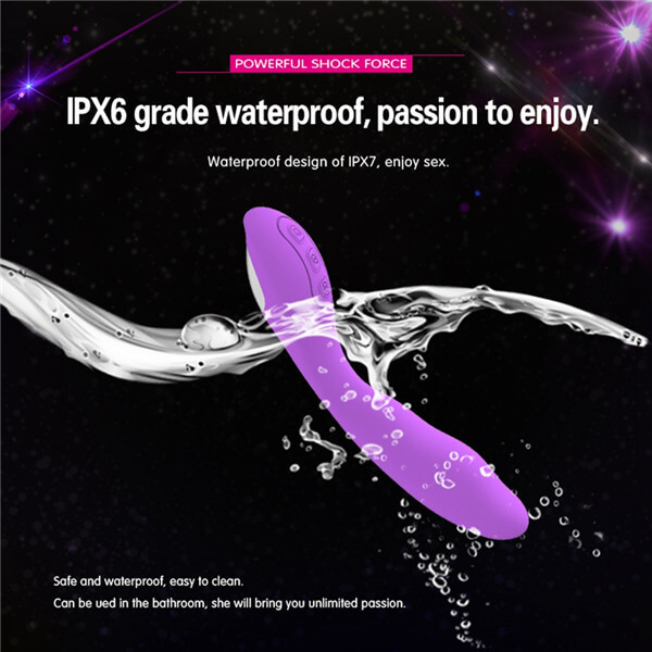 USB-Rechargeable-Magic-Wand-G-Spot-Dildo-Vibrator-Waterproof-Mute-Clitoris-Stimu